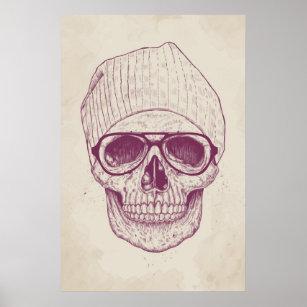 Póster Cráneo fresco