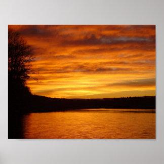 Póster Crepúsculo del Shawnee