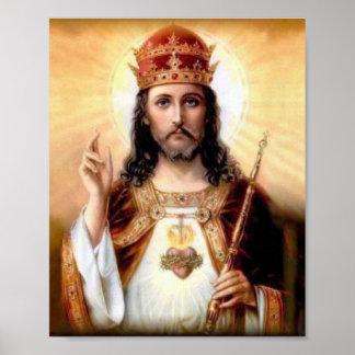 Póster Cristo el rey