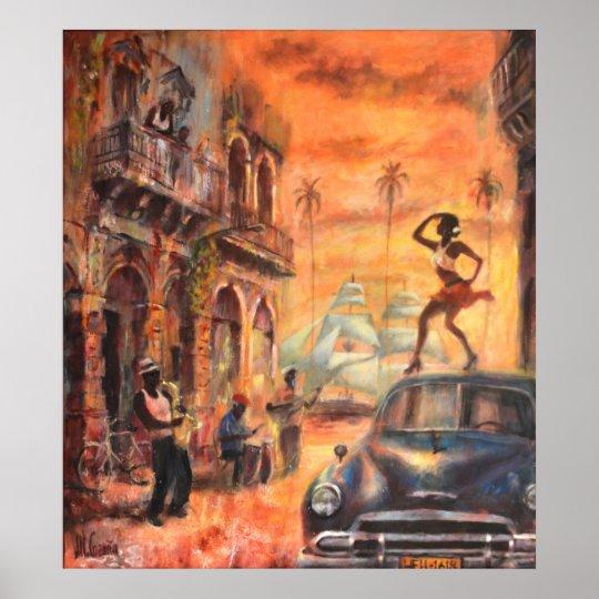 Póster Cuban dance