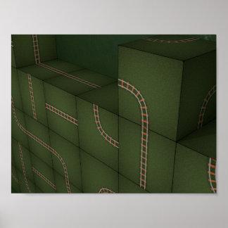Póster Cubos de Metris