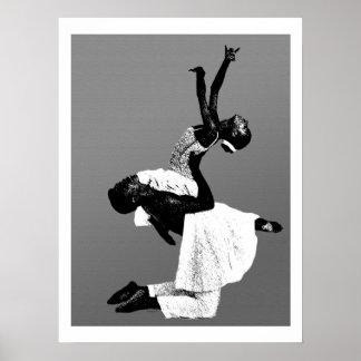 Póster Danza afroamericana
