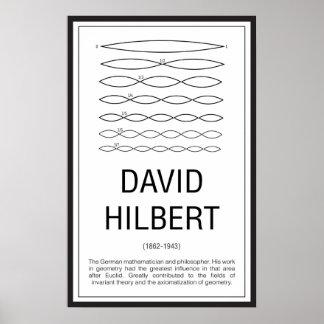 Póster David Hilbert