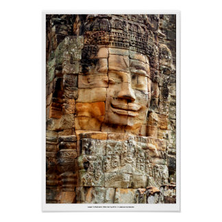"Poster de 16x20 de ""Angkor Wat Buda grande"" Póster"