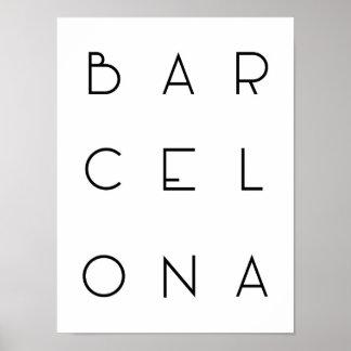 Poster de Barcelona Póster