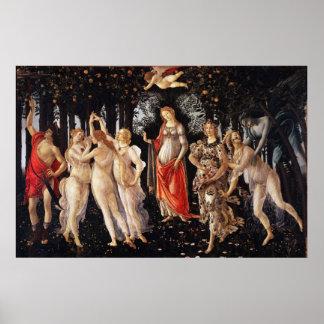 Poster de Botticelli Primavera