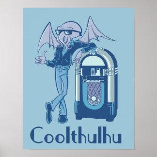 Poster de Coolthulhu (Cthulhu fresco)