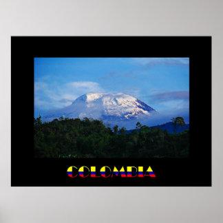 Poster de El Nevado del Tolima Colombia