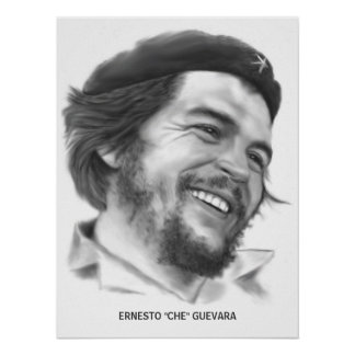 """Poster de Ernesto """"Che"""" Guevara Póster"""