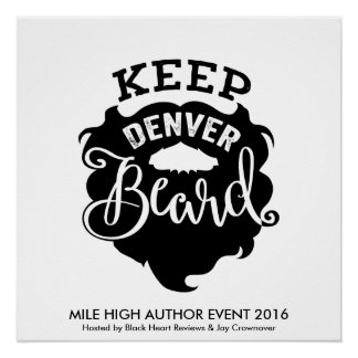 "Poster de la barba de MHAE ""guarde Denver"""