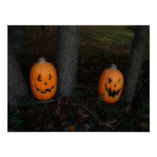 Poster de la calabaza de Halloween Póster