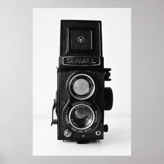 Poster de la cámara del vintage