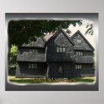 Poster de la casa de la bruja de Salem