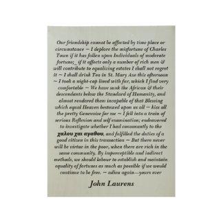 Poster de la cita de Juan Laurens