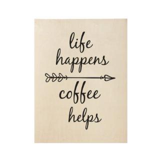 Poster de la cita del café