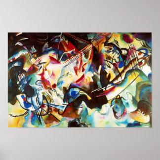 Poster de la composición VI de Kandinsky