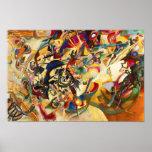 Poster de la composición VII de Kandinsky