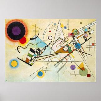 Poster de la composición VIII de Kandinsky Póster