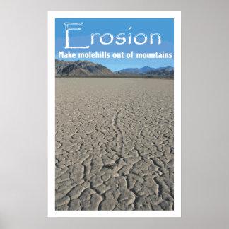 Poster de la cubierta de la erosión