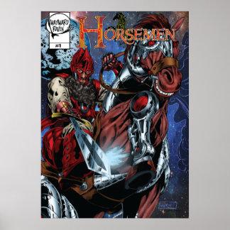 Poster de la cubierta de los jinetes #1