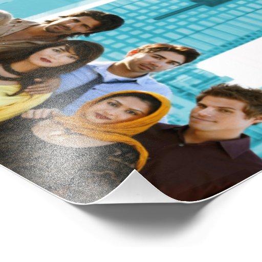 Poster de la estación 1 de los bombachos (8x10) arte fotográfico