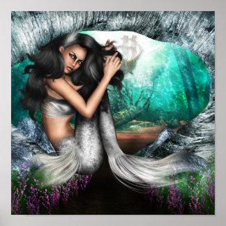Poster de la fascinación de la sirena póster