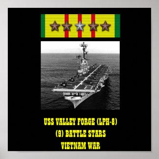 POSTER DE LA FRAGUA DEL VALLE DE USS LPH-8