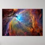 Poster de la galaxia del espacio de la nebulosa de