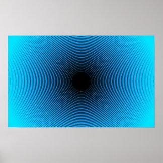 Poster de la ilusión óptica póster