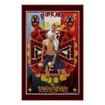 Poster de la impresión del arte del bailarín de