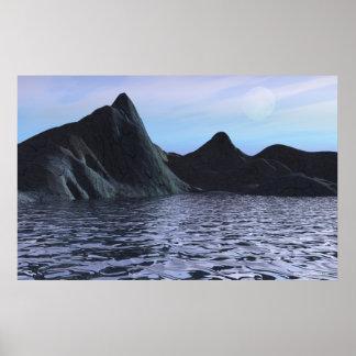 Poster de la isla de la serenidad