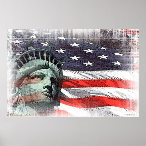 Poster de la libertad póster