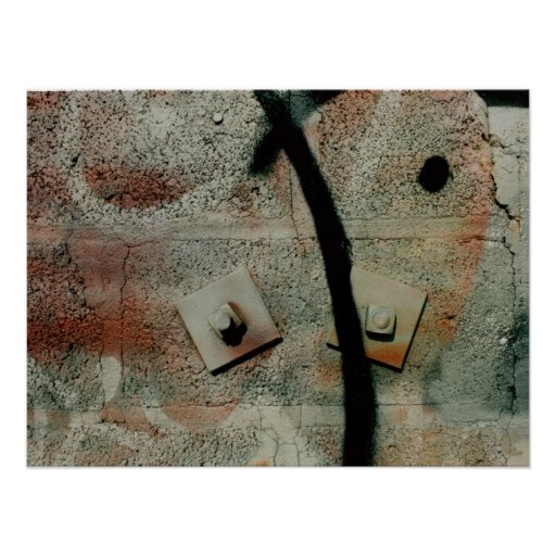 poster de la pintada del cinderblock