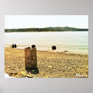 Poster de la playa
