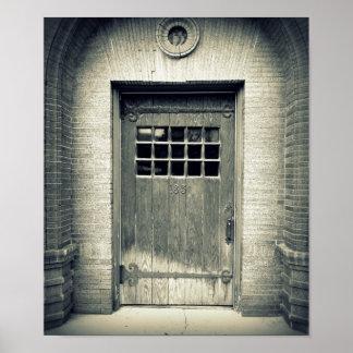Poster de la puerta póster
