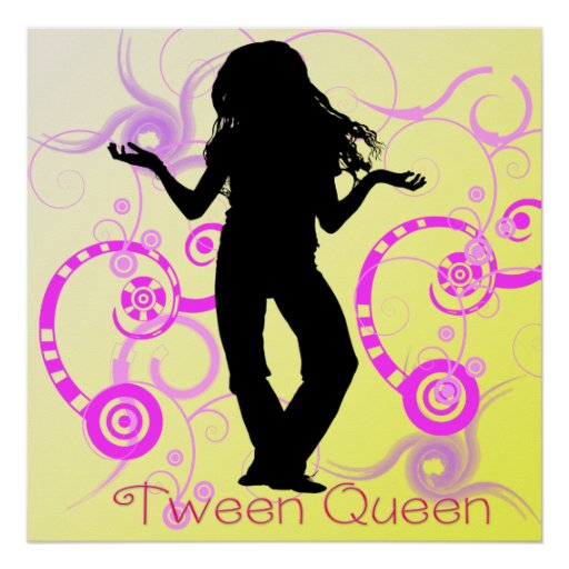 Poster de la reina del tween