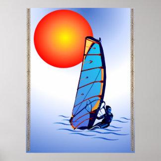 Poster de la resaca del viento