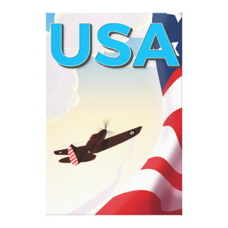 Poster de la Segunda Guerra Mundial del vintage de Impresion De Lienzo