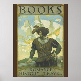 Poster de la semana del libro de 1927 niños póster