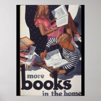Poster de la semana del libro de 1929 niños póster