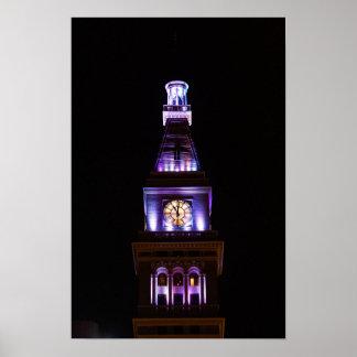 Poster de la torre de reloj de Colorado Póster