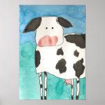 Poster de la vaca