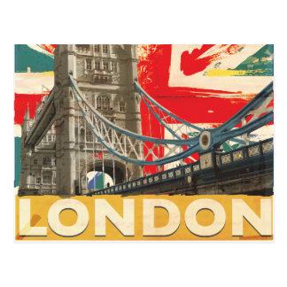 Poster de Londres del vintage Postales