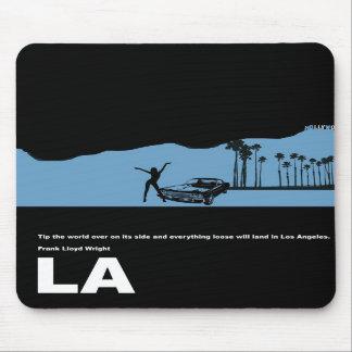Poster de Los Ángeles Alfombrilla De Ratón