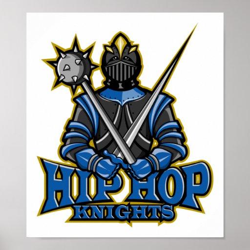 Poster de los caballeros de Hip Hop