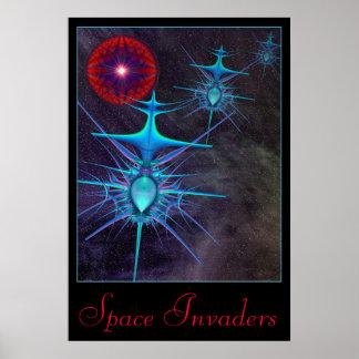 Poster de los invasores 2 del espacio