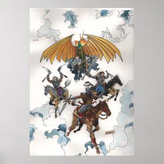 Poster de los jinetes