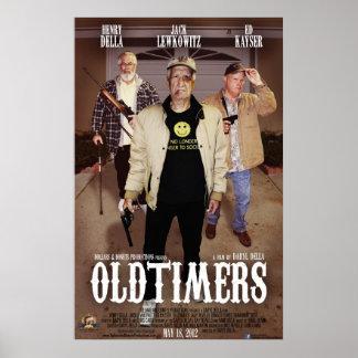 Poster de los Oldtimers Póster