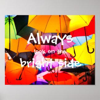 Póster De los paraguas de //mirada siempre en la parte