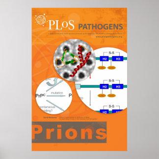 Poster de los priones los patógeno de PLoS